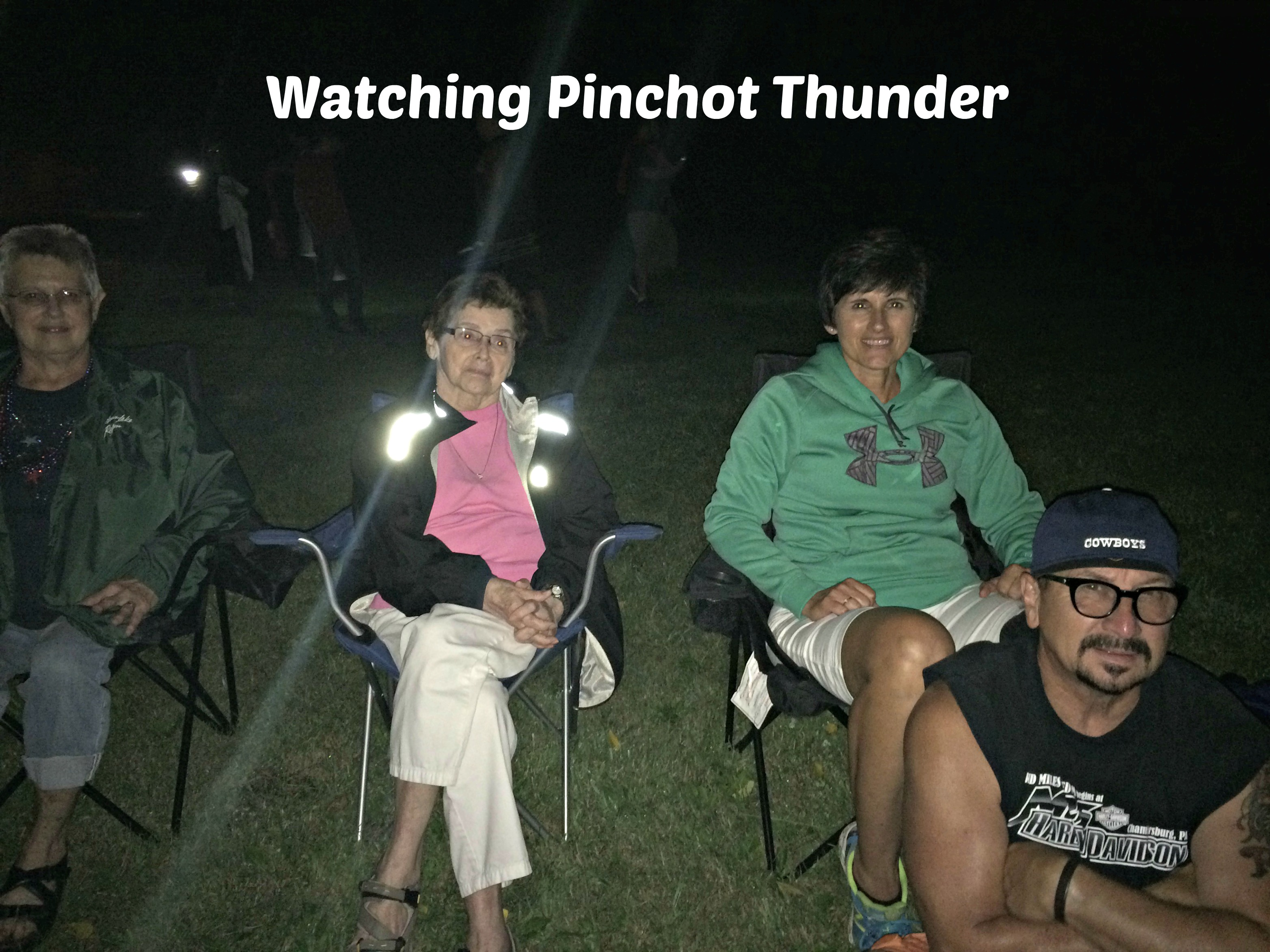 Watching Pinchot Thunder