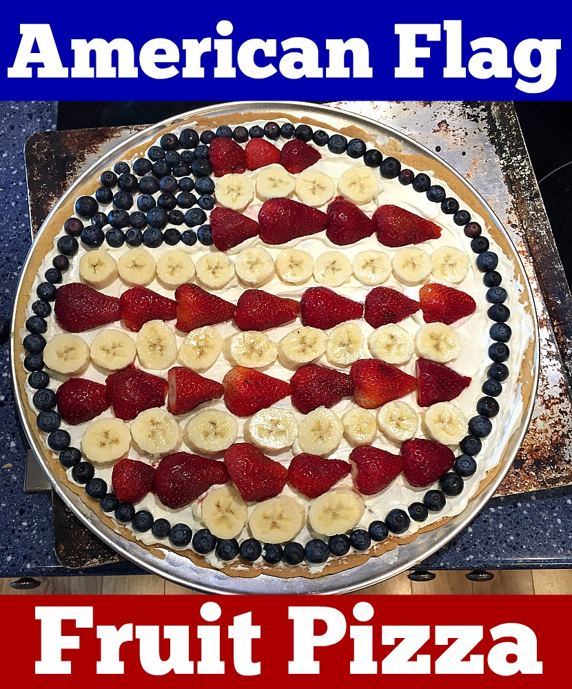 American Flag Fruit Pizza | Robin Smith