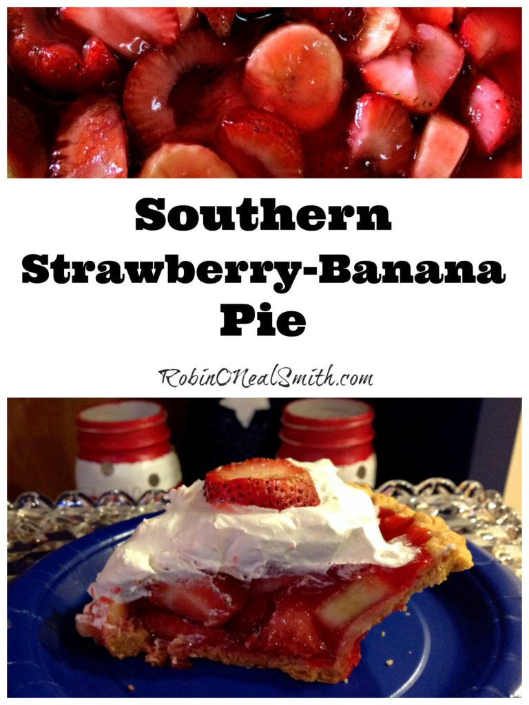 Strawberry-Banana Pie
