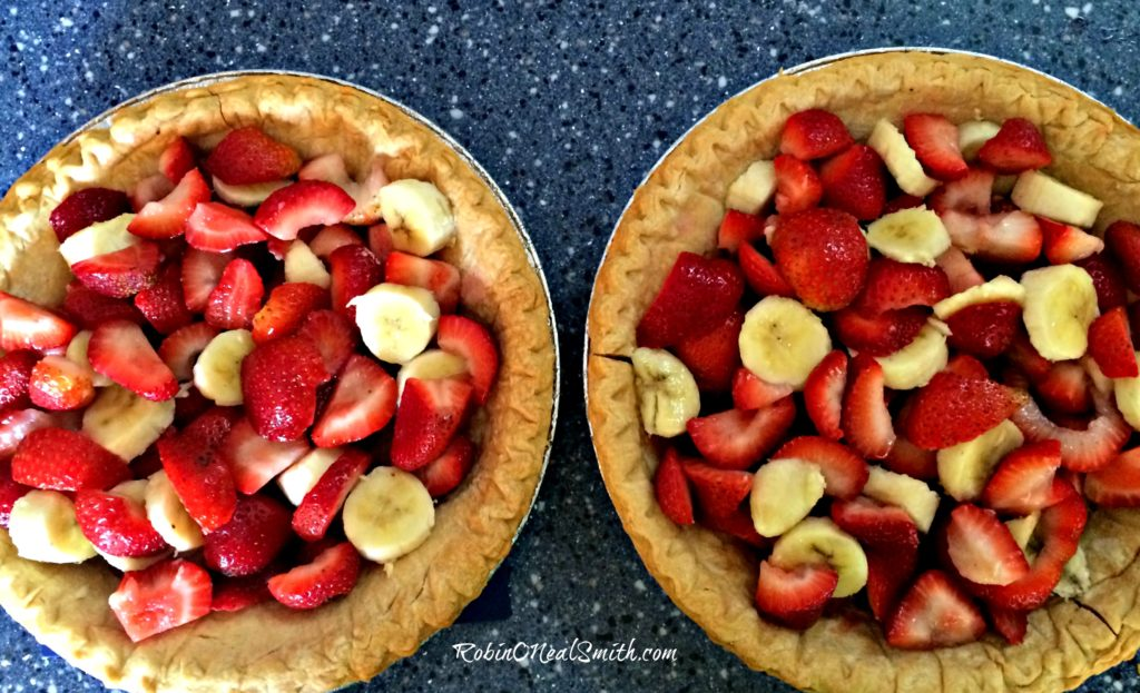 Strawberry Banana Pie Filling