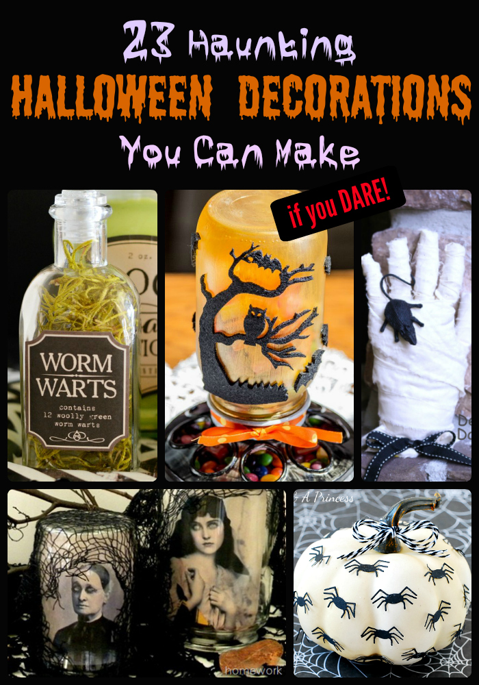 23 haunting halloween decorations you can make robin smith