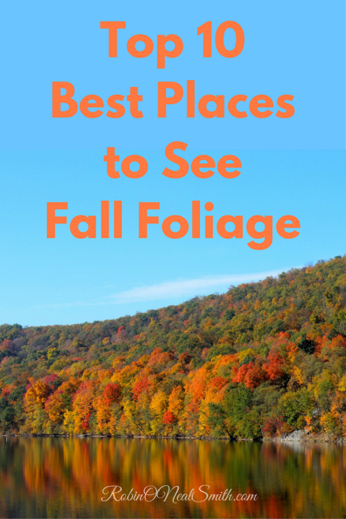 Top Ten Fall Foilage