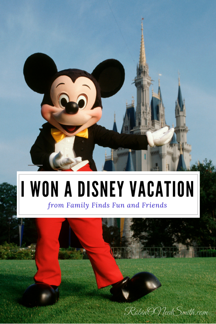 Disney Vacation - I won