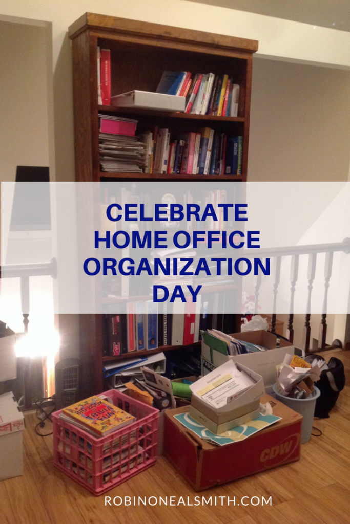 Home Office Organization Day