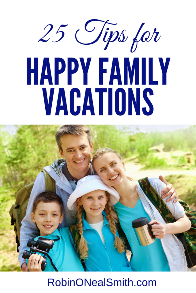 25 Tips for Happy Family Travel